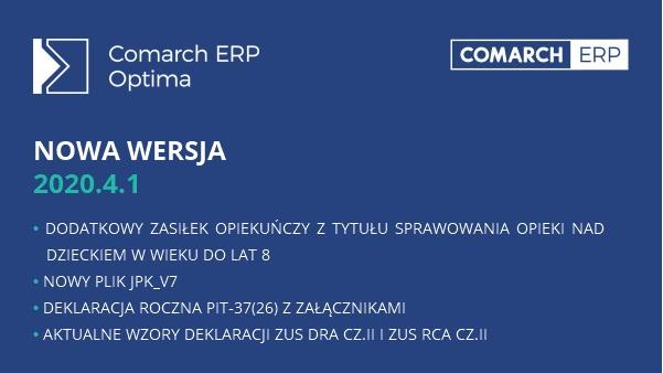 Comarch ERP Optima 2020_4_1
