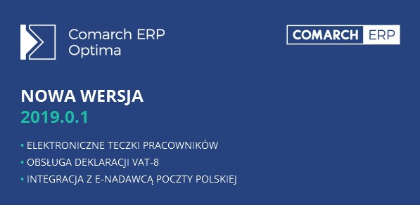 Comarch erp optima 2019.0.1