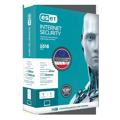 ESET internet security pudełko