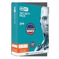 ESET security pack 3x3 box
