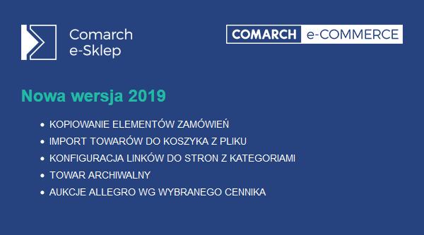 comarch e-sklep 2019