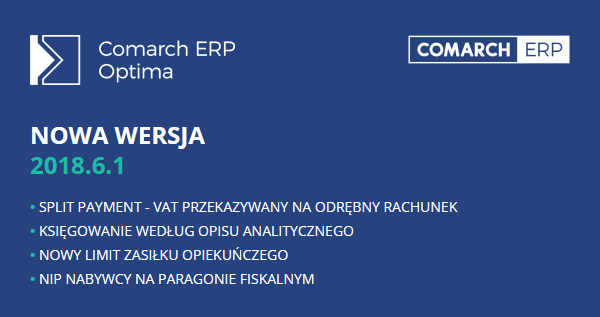 comarch erp opima 2018.6.1
