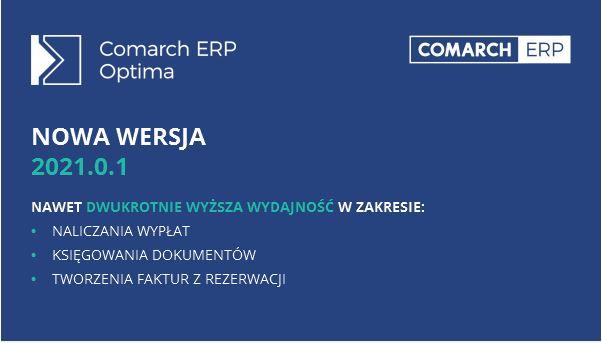 Comarch ERP Optima 2021.0.1