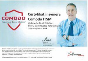 comodo itsm certyfikat