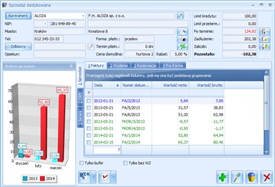 Comarch ERP Optima analizy